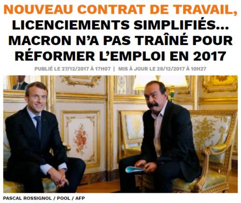 2017-12-31 15_54_02-Nouveau contrat de travail, licenciements simplifiés… Macron n'a pas traîné pour