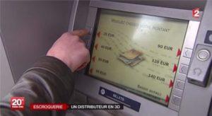 Escroquerie à grande échelle à l'aide d'un faux distributeur de billets