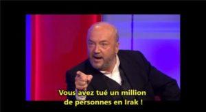 Vous avez tué 1 000 000 de personnes en Irak