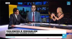 À voir Meyer Habib se fait démonter en direct par Majed Bamya (Débat sur France 24)