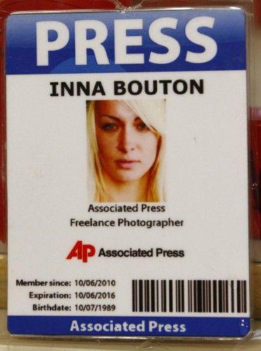 Femen Inna Bouton Associated Press
