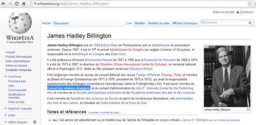 James Hadley Billington Wikipedia
