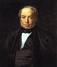 Portrait représentant James de Rothschild