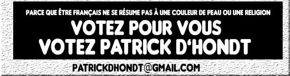Votez pour vous ! votez Patrick D'Hondt
