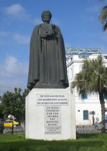 statue ibn khaldoun citation-arabes