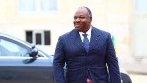 Le président gabonais Ali Bongo, au palais de l'Elysée, en décembre 2013. © Pierre René-Worms/RF
