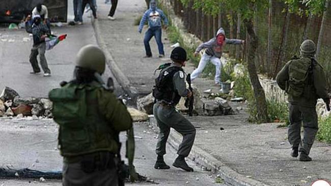 Les soldats israéliens tirent sur les jeunes palestiniens en Cisjordanie.©AFP