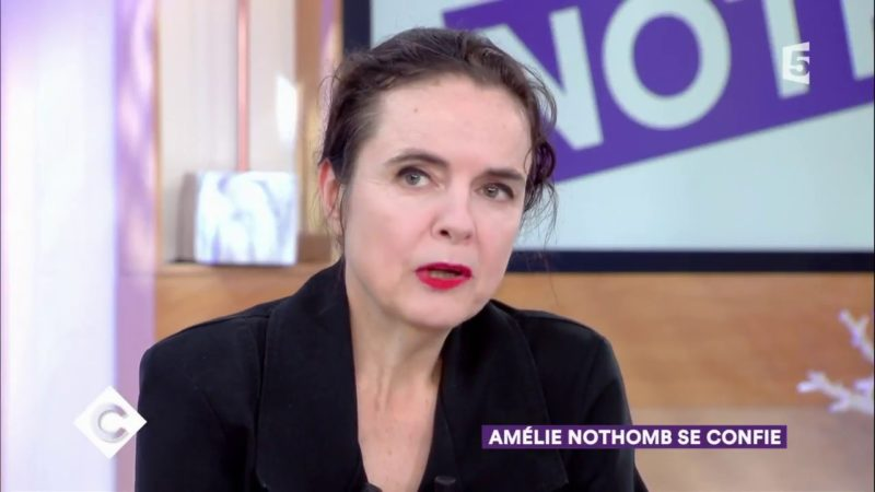 Amélie Nothomb - C à vous - 01-09-2017 - Capture YouTube