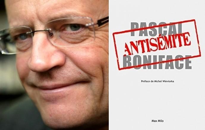 Antisémite de Pascal Boniface aux éditions Max Milo MANUEL COHEN AFP