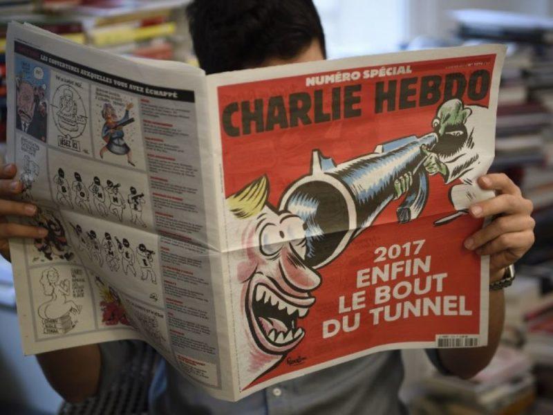 Charlie Hebdo AFP
