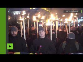 Défilé pour Stepan Bandera