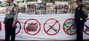 La Birmanie a réalisé une saisie record de 30 millions de pilules de méthamphétamines ©AFP AFP