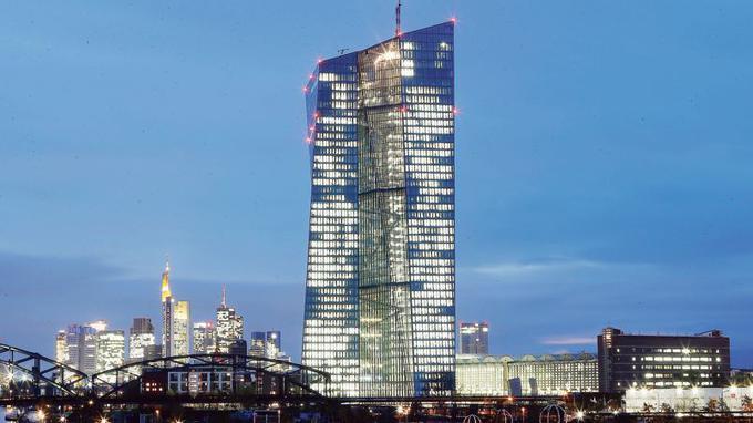 Le nouveau siège social de la BCE, à Francfort. Michael Probst/AP
