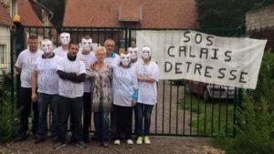 Les Calaisiens en colère