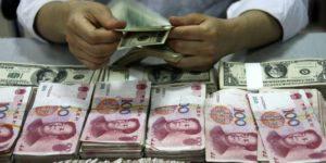 Les mafias chinoise et israélienne en France seraient directement bénéficiaires de ces transferts. AFP-STR