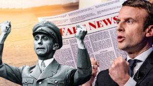Macron Goebbels
