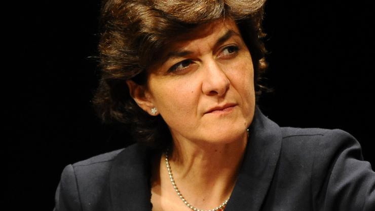 Sylvie Goulard à la Banque de France