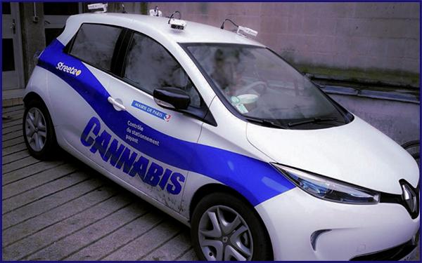 pv de stationnement au volant de la voiture flasheuse un agent positif au cannabis meta tv. Black Bedroom Furniture Sets. Home Design Ideas