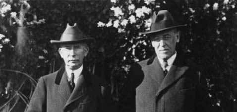 Le Colonel House et le Président Wilson