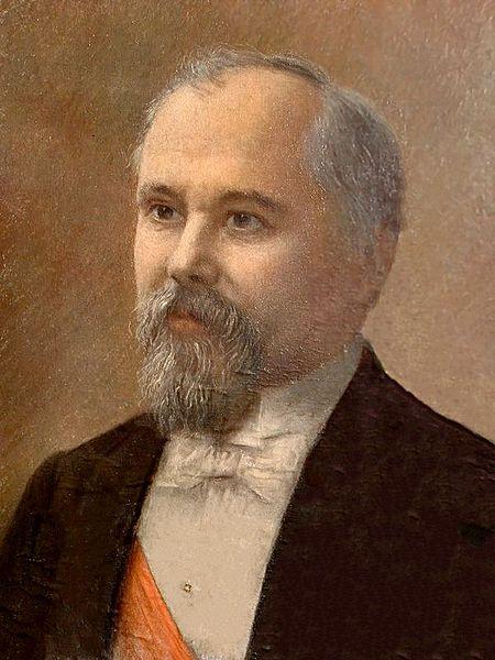 Le Président français Raymond Poincaré
