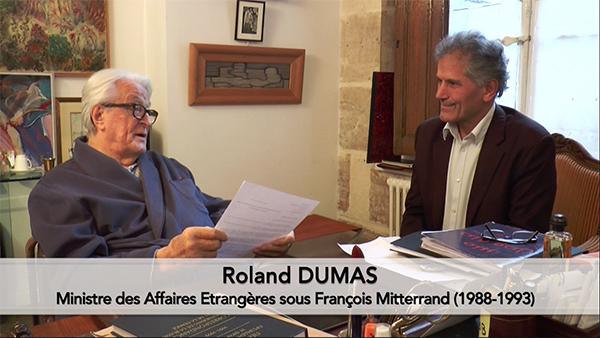 Roland Dumas CDV