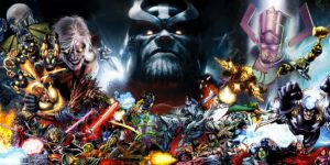 Marvel Comics Villains-List