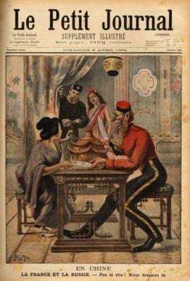Le partage de la Chine, Le petit journal, 1902