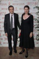 Les époux Yves Lévy et Agnès Buzyn Photo Thomas SAMSON AFP