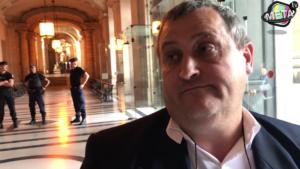Procès Hervé Ryssen Thierry Gosselin est venu le soutenir, le 23 mai 2018