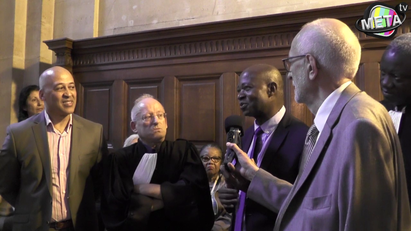 Procès affaire Eliane Kabile le 05 juin 2018 avec Dominique Kounkou & Thierry Kabile
