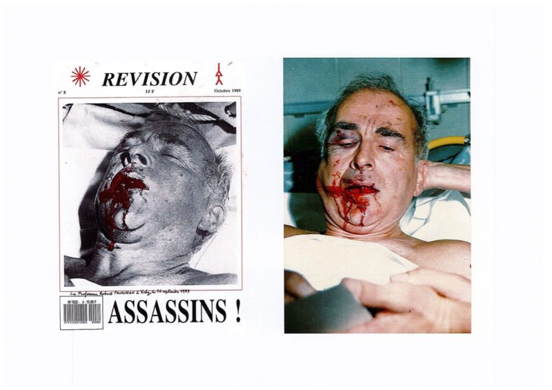 Agression de Robert Faurisson le 16 septembre 1989