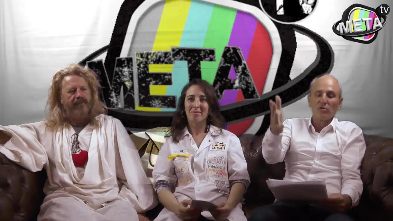 Entretien Gilets Jaunes 2 sur MetaTV – Jésus Gilet Jaune & Florence par Périclès (2021-06-10)