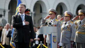 Ukraine/Jour de l'Indépendance : Un défilé militaire à Kiev