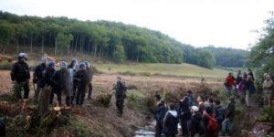 Le corps d'un homme retrouvé sur le site du barrage contesté de Sivens
