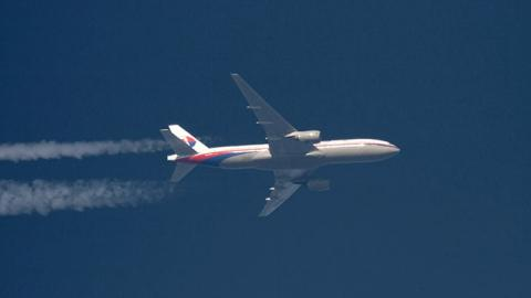 l'avion de Malaysia Airlines