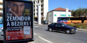 Béziers : Des publicités de la ville pour le livre de Zemmour font polémique